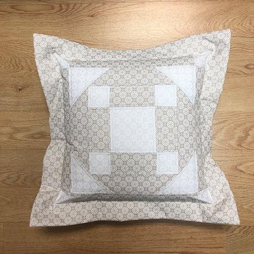 Cojín - blanco/beige