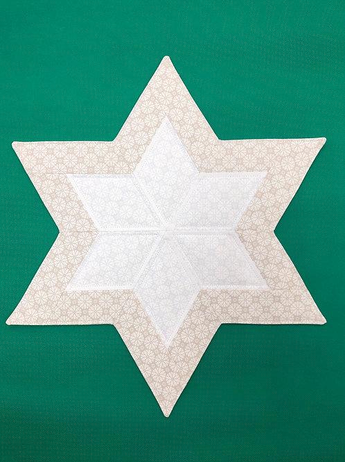 Estrella - mantel pequeño