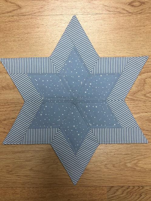 Estrella navideña - mantel pequeño