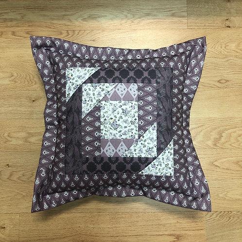 Cojín - blanco/lila