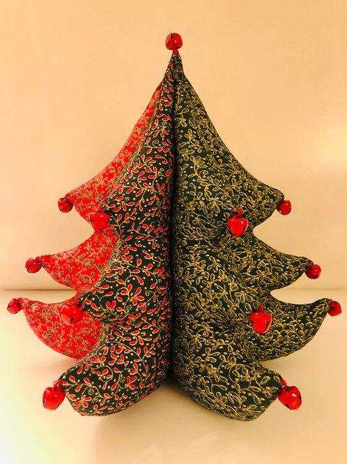 Árbol de Navidad con cascabeles - adorno