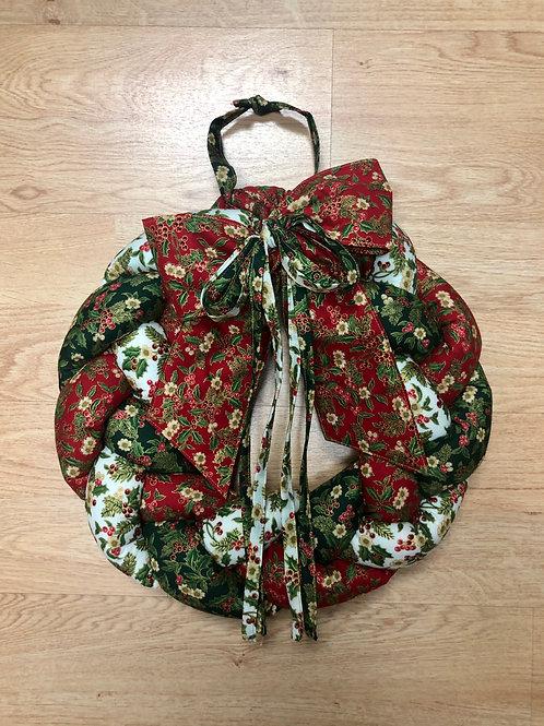 Corona de Navidad - acebos