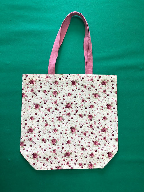 Bolsa de tela - rosas
