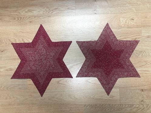 Estrellas - juego de manteles pequeños