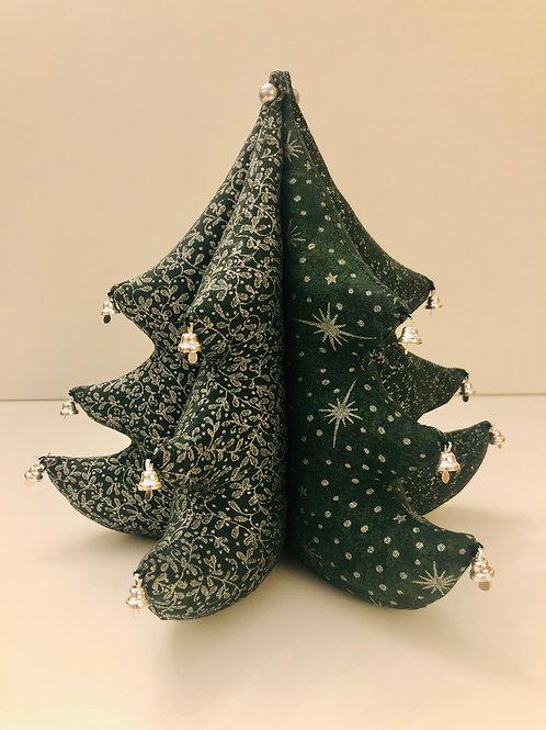 Árbol de Navidad con campanitas - adorno