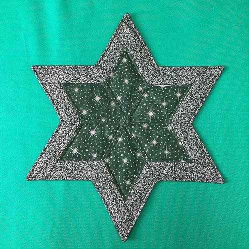 Estrella - mantel pequeño - estrellas