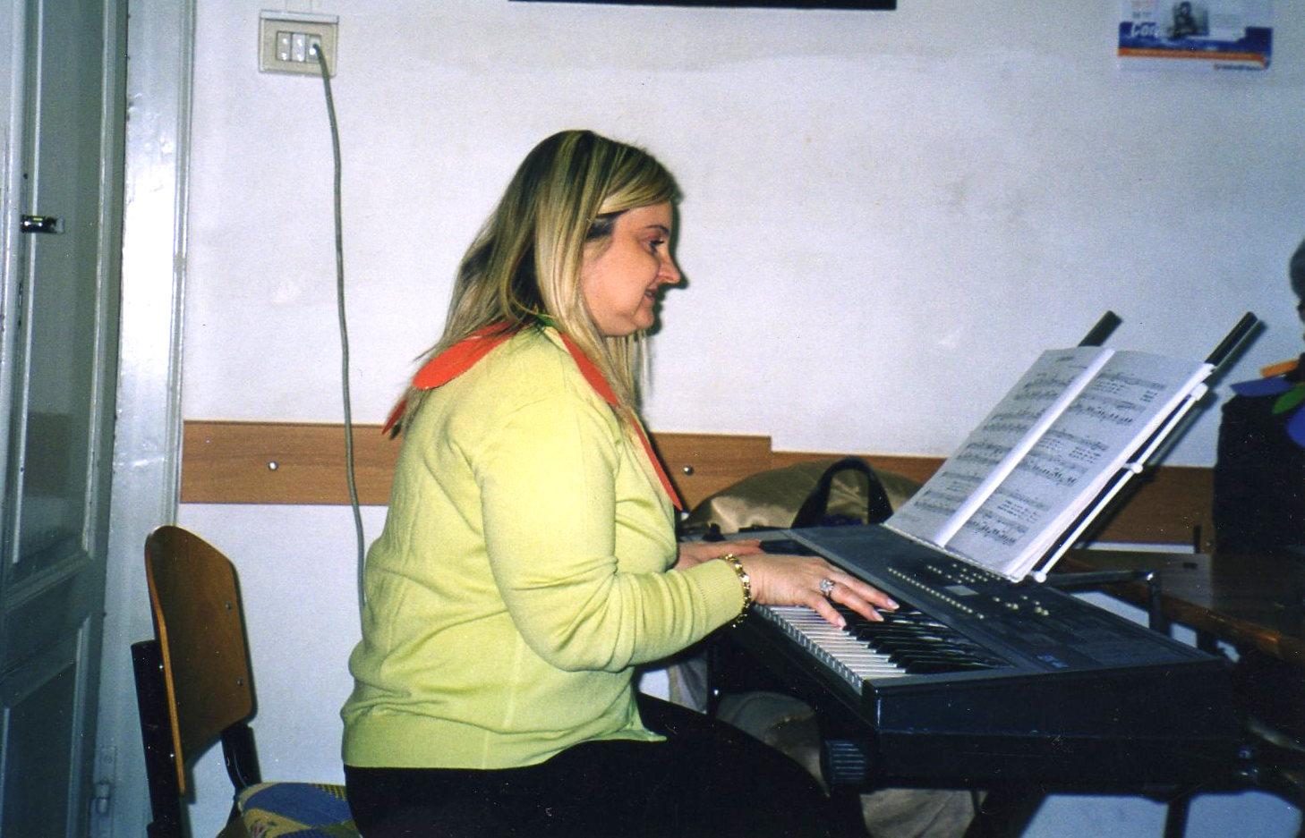 Insegnante di canto corale