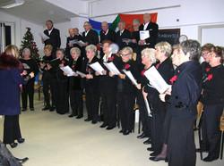 Esibizione del nostro coro