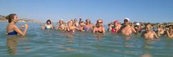 Ginnastica in spiaggia