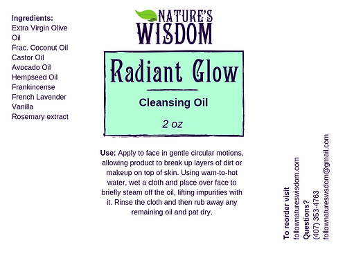 Radiant Glow Cleansing Oil