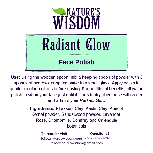 Radiant Glow Face Polish