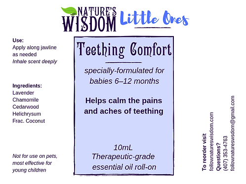 Teething Comfort