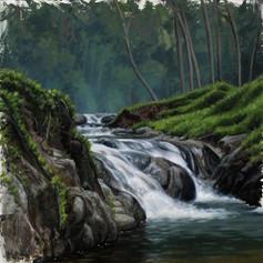 Osa-Uvita Waterfall II