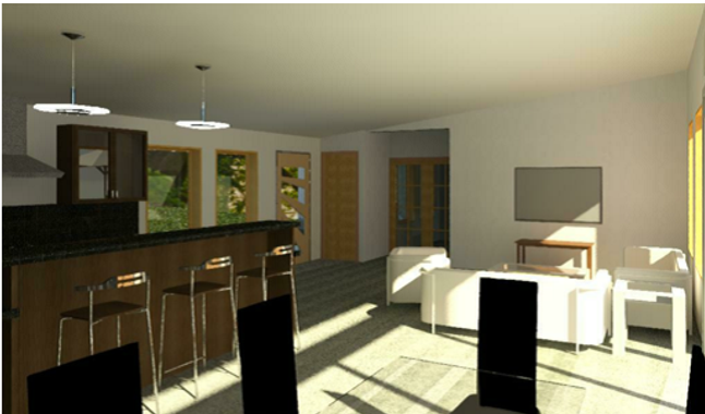Rendering - Rendering - Gardner Bedroom