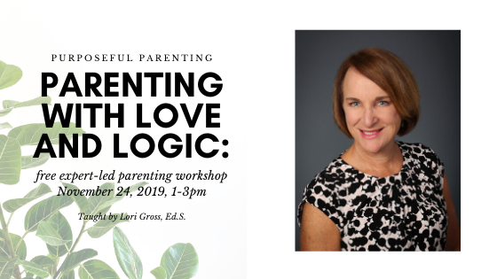Parenting With Love and Logic: A Free Parenting Workshop