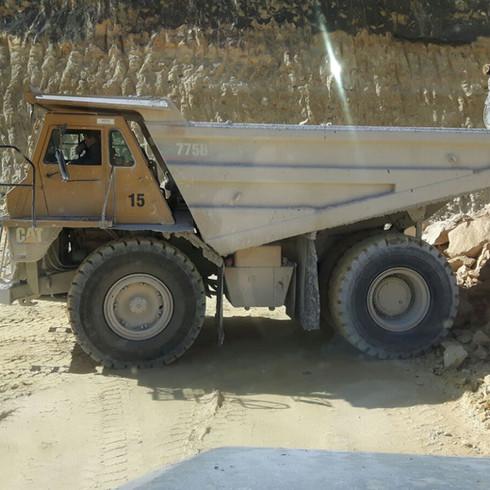 dumptrucks, chauffeurs, machinistenverhuur