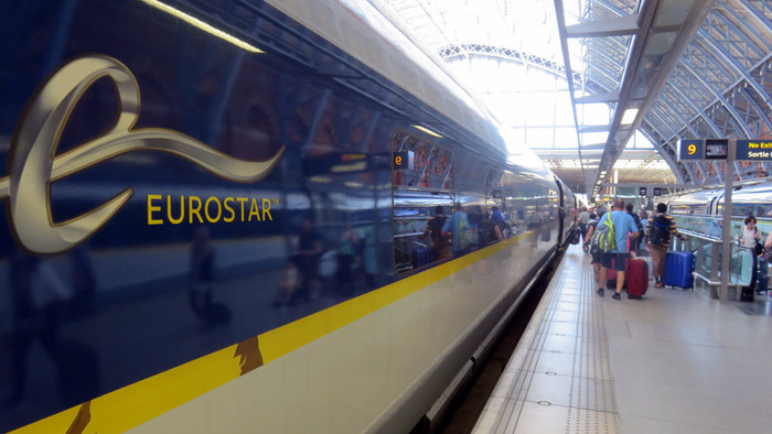 By train to Amsterdam