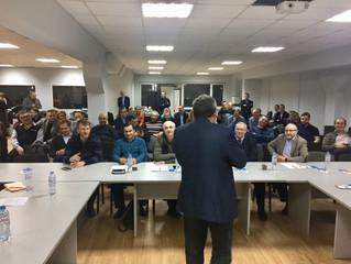 """Фото с заседания Клуба """"цифровиков"""" 24 января в Питере"""