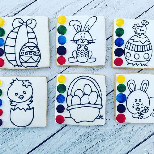 """""""BAC"""" biscuit à colorier"""