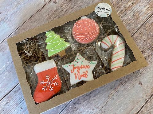 Coffret de 5 biscuits Noël
