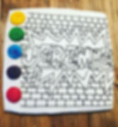 Biscuit à colorie peindre Vaud Morges