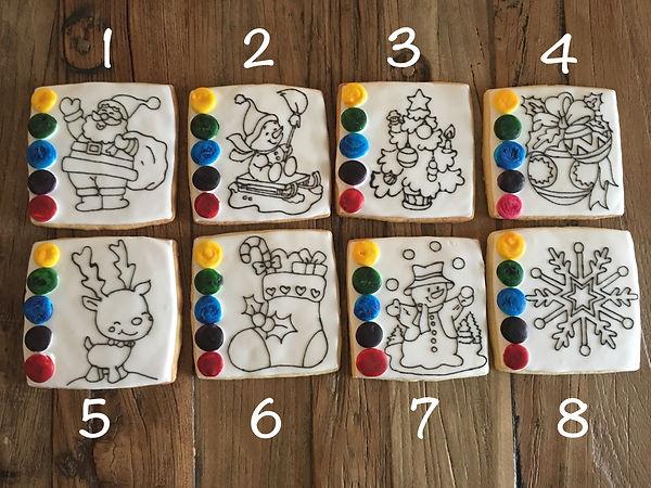 Biscuit à colorier peindre Morges Lausanne