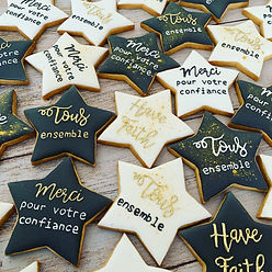 cadeau entreprise biscuits remerciements suisse