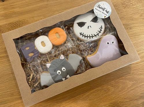 Coffret de 4 biscuits Halloween