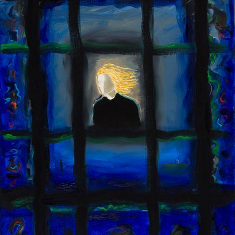 Det blå vinduet