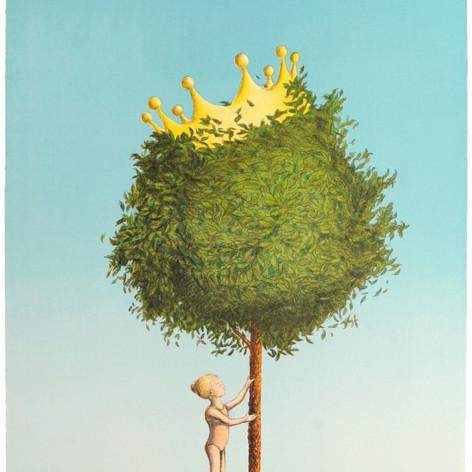 The tree crown princess