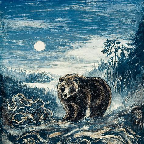Bjønnen innpå Finnskogen