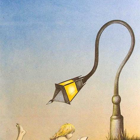 Knowledge will light my way through the dark night II
