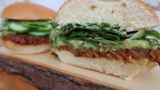 Burger Végétarien à la patate douce et au quinoa