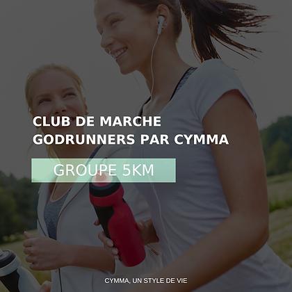 Adhésion au CLUB DE MARCHE GODRUNNERS 5KM