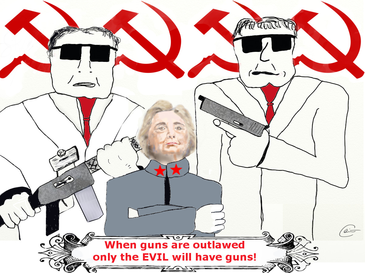 When guns are outlawed only the evil will have guns
