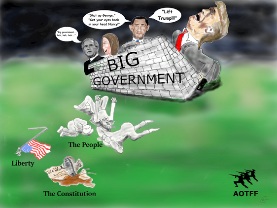 THE WALL                              That is Big Government