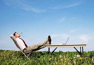 Calm man hypnosis no stress anxiety stop panic attack