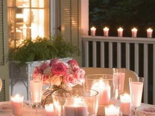 La douce lumière des bougies