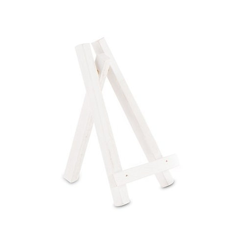 Chevalet de table bois blanc TPM (x6)