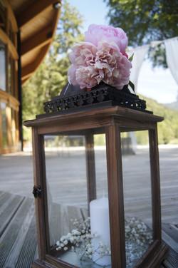 Lanterne fleurie