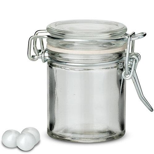Mini-bocaux avec fermeture métallique (x 6)