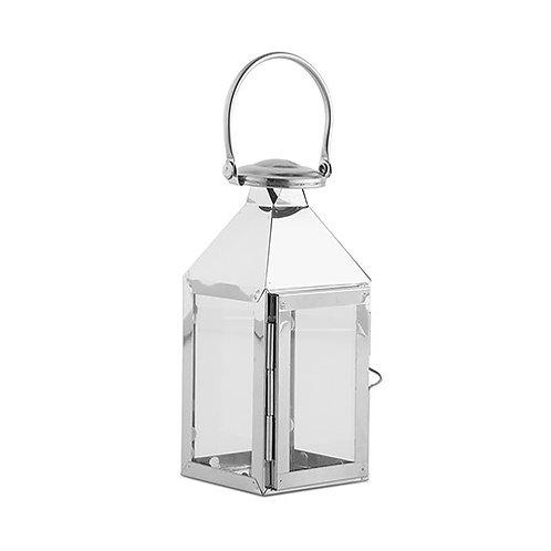 Lanterne décorative - Argentée (PM)
