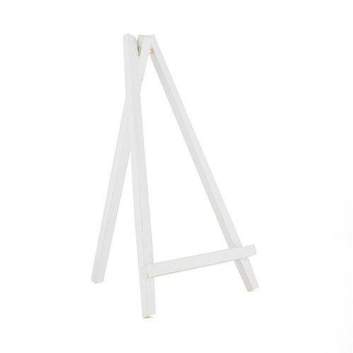 Chevalet de table bois blanc GM