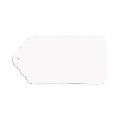 Etiquettes blanches cadeaux invités (x48)