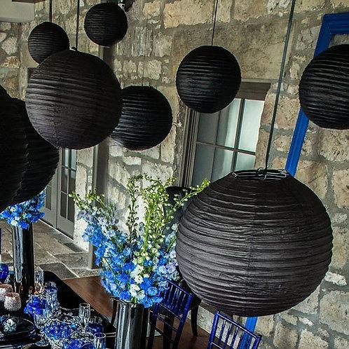 Lanternes rondes en papier - larges