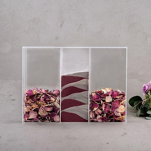 Sable cérémonie d'engagement / tons rouges, roses et violets