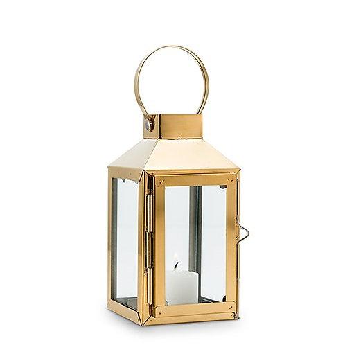 Lanterne décorative - Or (PM)