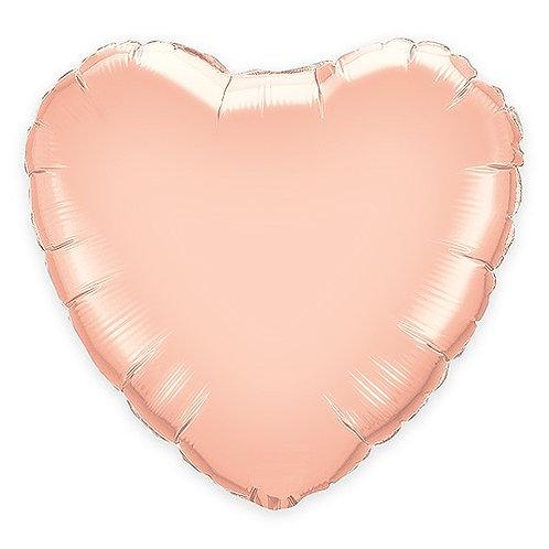 copie de Ballon Coeur Or Rose - Grand modèle