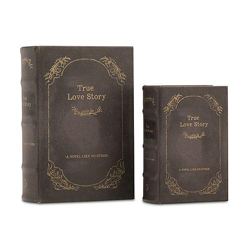 Boîtes vintage imitation vieux livres