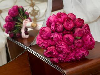 La pivoine, fleur des futures mariées de printemps...